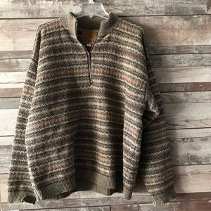 ALPS men's multicolor sweater XL